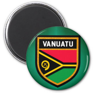 Vanuatu Flag Magnet