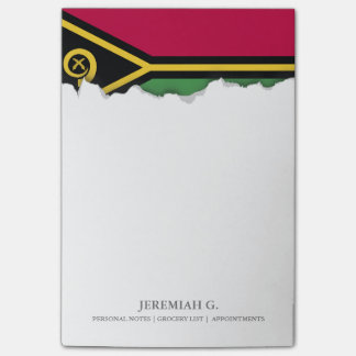 Vanuatu Flag Post-it® Notes