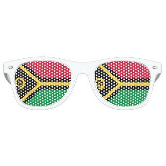 Vanuatu Flag Retro Sunglasses