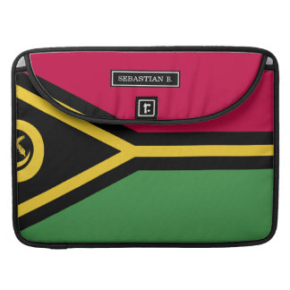 Vanuatu Flag Sleeve For MacBooks