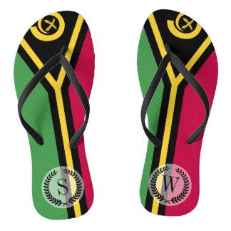 Vanuatu Flag Thongs