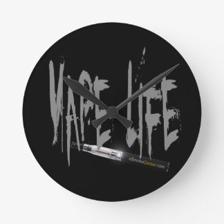 Vape Life! Round Clock