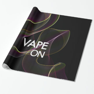 Vape On Lime Smoke Wrapping Paper