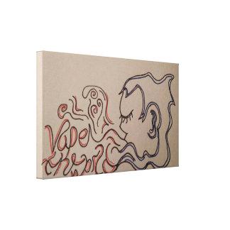 Vape original artwork canvas print