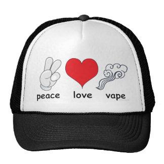Vape | Peace Love Vape by the VapeGoat Cap