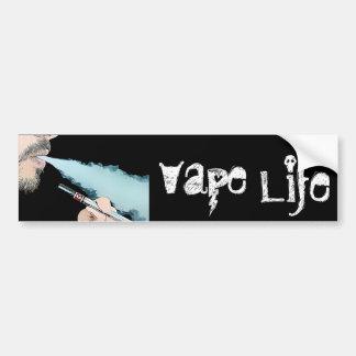Vaper Vaping Vape Life Vaping Pen Bumper Sticker