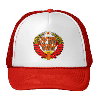 Vapers of the World Unite Trucker Hat