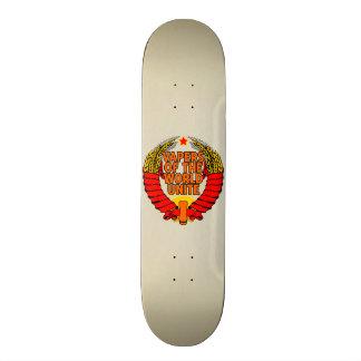 Vapers of the World Unite Custom Skate Board