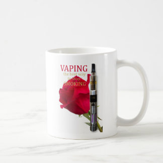 Vaping is the best way to stop smoking coffee mug