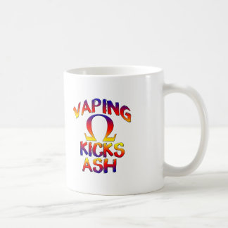 Vaping Kicks Ash Coffee Mugs Cups