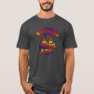 VAPING KICKS ASH T-shirts