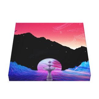 Vapor5 Canvas Print
