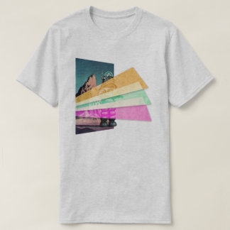 Vaporwave Space Robot T-Shirt