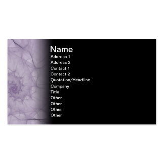 Vapours Abstract Fractal Art Business Card