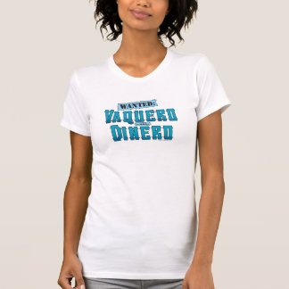 Vaquero With Dinero Ladies Performance Micro-Fiber T-Shirt