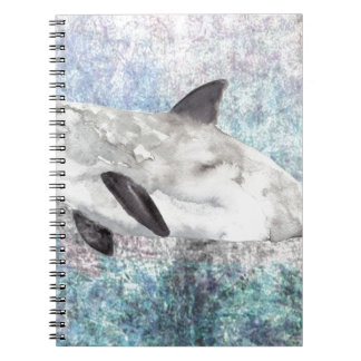 Vaquita River Dolphin Endangered Animal Painting Note Book