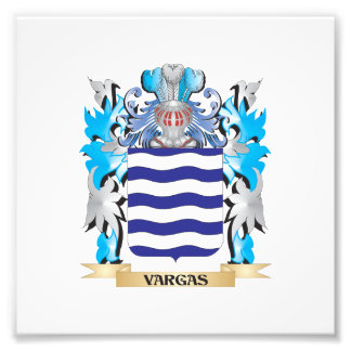 Vargas Coat of Arms - Family Crest Photograph