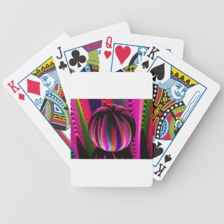 Variation of colours in the glass bicycle playing cards