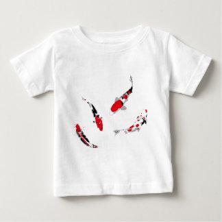 Varicolored carps baby T-Shirt