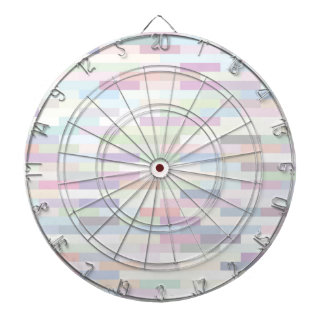 varicolored pattern dartboard