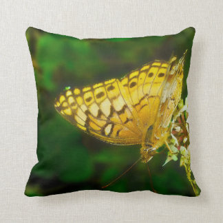 Variegated Fritillary Butterfly Photo Throw Cushions