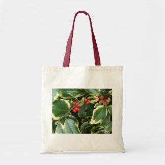variegated holly bag
