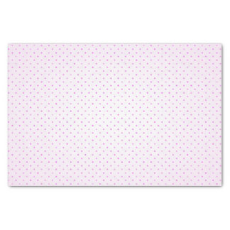 Variegated Orchid Colored Polka Dot Girly Pattern Tissue Paper
