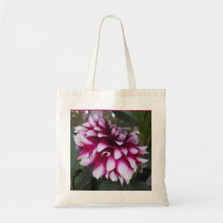 Variegated Pink Flower tote