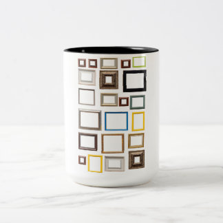 Various Colorful Picture Frames Coffee Mugs