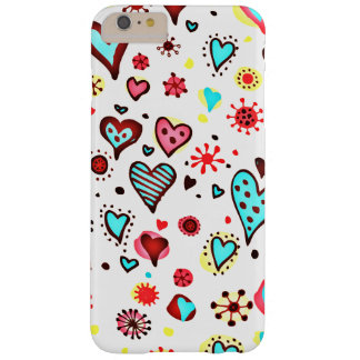Various Cute Hearts Pattern Barely There iPhone 6 Plus Case
