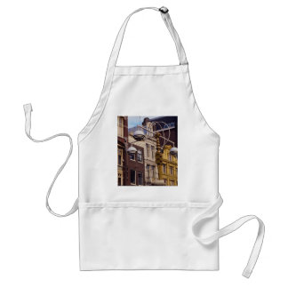 Various housing styles are an architectural feast adult apron