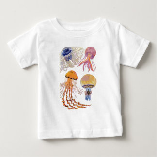 Various Jelly Fish Baby T-Shirt