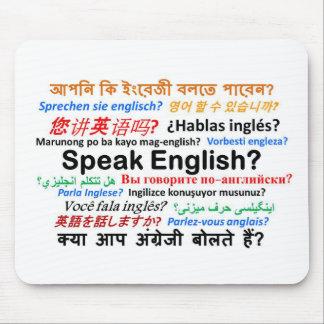 Various Language Products - Speak English? Mouse Pad