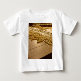 Various mix of fresh italian homemade pasta baby T-Shirt