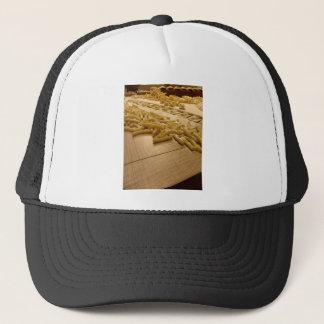 Various mix of fresh italian homemade pasta trucker hat