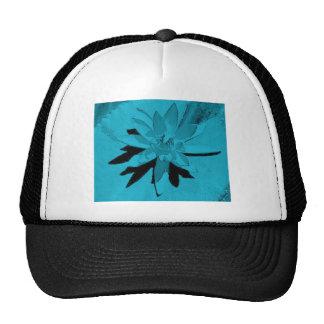 VARIOUS MULTI-COLORED LOTUS FLOWERS TRUCKER HATS
