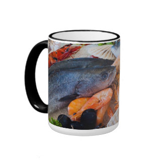 Various Seafood Mugs