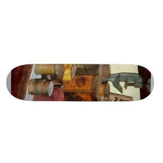 Varnish, Soap and Glue Custom Skate Board