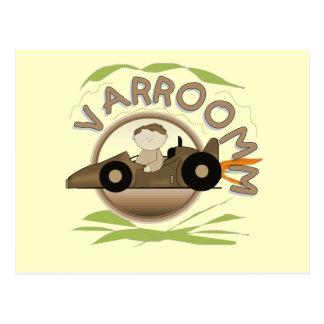 Varroomm Race Car Tshirts and Gifts Postcard
