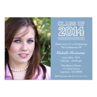 Varsity Class Of 2014 Graduation (Blue Gray) Invite