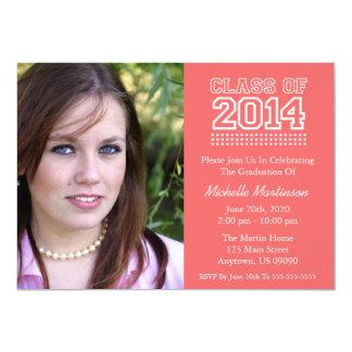 Varsity Class Of 2014 Graduation (Coral) Invite