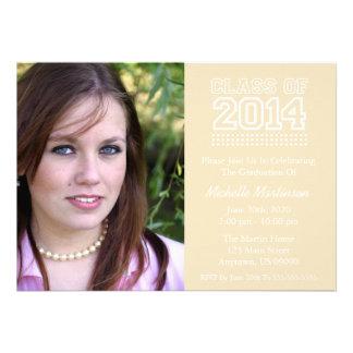 Varsity Class Of 2014 Graduation Cream Cards