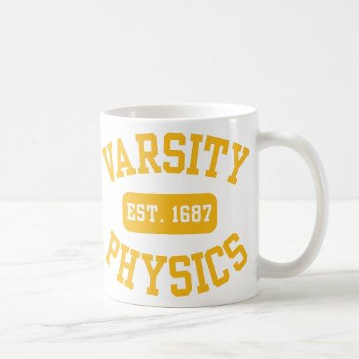 Varsity Physics Coffee Mug