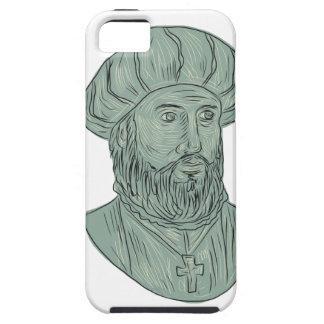 Vasco da Gama Explorer Bust Drawing Case For The iPhone 5