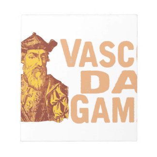 Vasco Da Gama Notepads