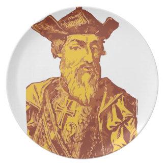 Vasco Da Gama Plate