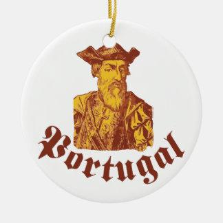 Vasco Da Gama Portugal Ceramic Ornament