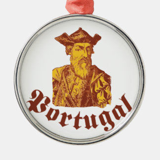 Vasco Da Gama Portugal Metal Ornament