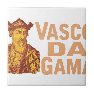 Vasco Da Gama Tile