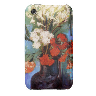 Vase Carnations Other Flowers Vincent van Gogh Case-Mate iPhone 3 Cases